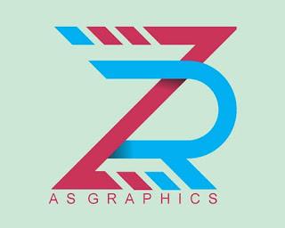ZR Alphabet Logo Design