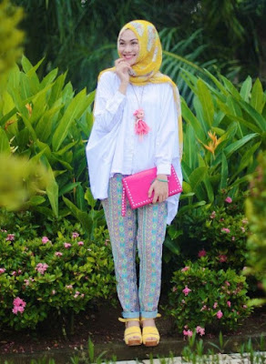 model fashion hijab modern