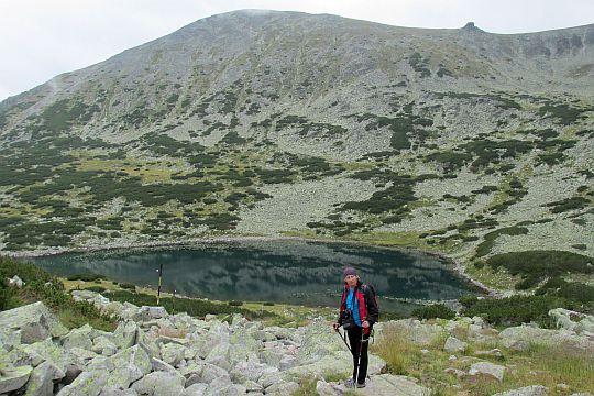 Jezioro Karakasheva (bułg. Каракашевото езеро; 2393 m n.p.m.).