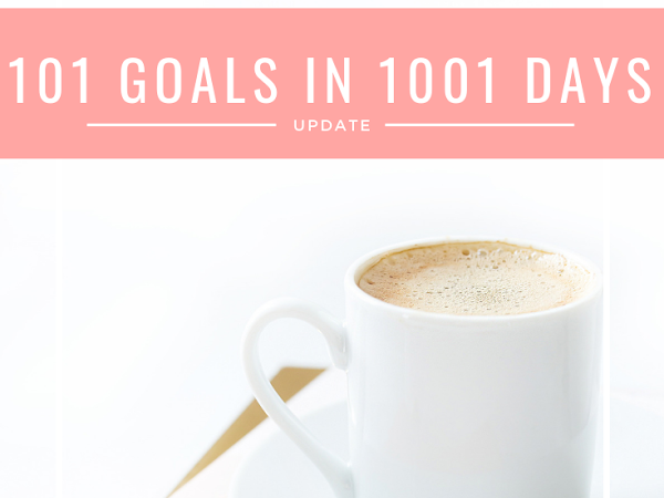 101 in 1001 (and Other Goals) Check In - It's a Big One