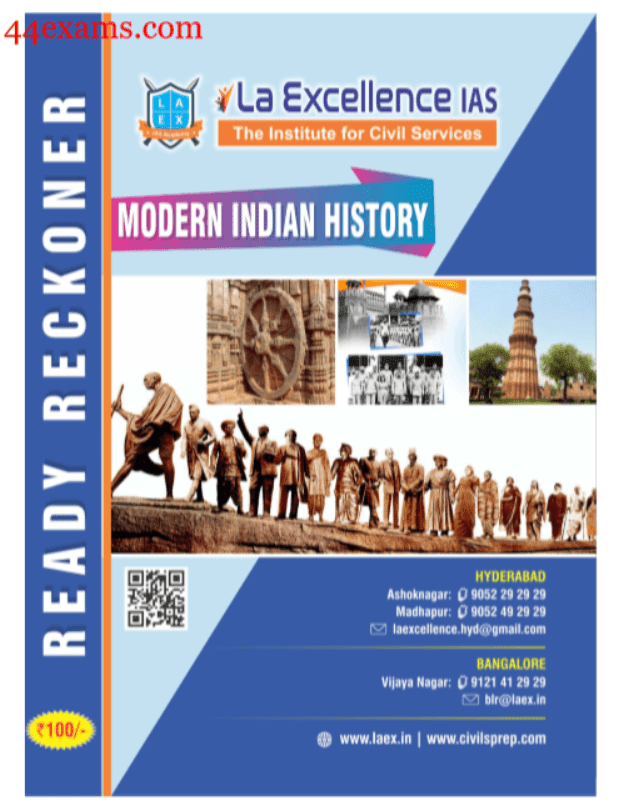 Modern-Indian-History-For-UPSC-Exam-PDF-Book
