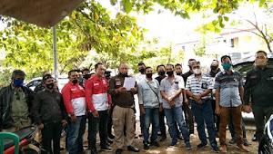 Sejumlah Wartawan dan LSM kembali Adakan Pertemuan di Palabuhanratu, mengenai kasus oknum apdesi