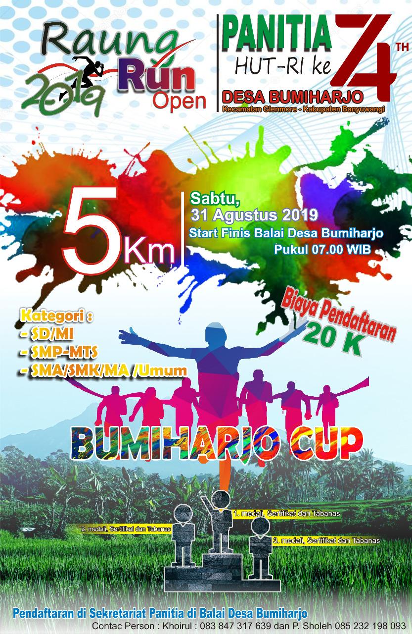 Raung Run - Bumiharjo Cup • 2019