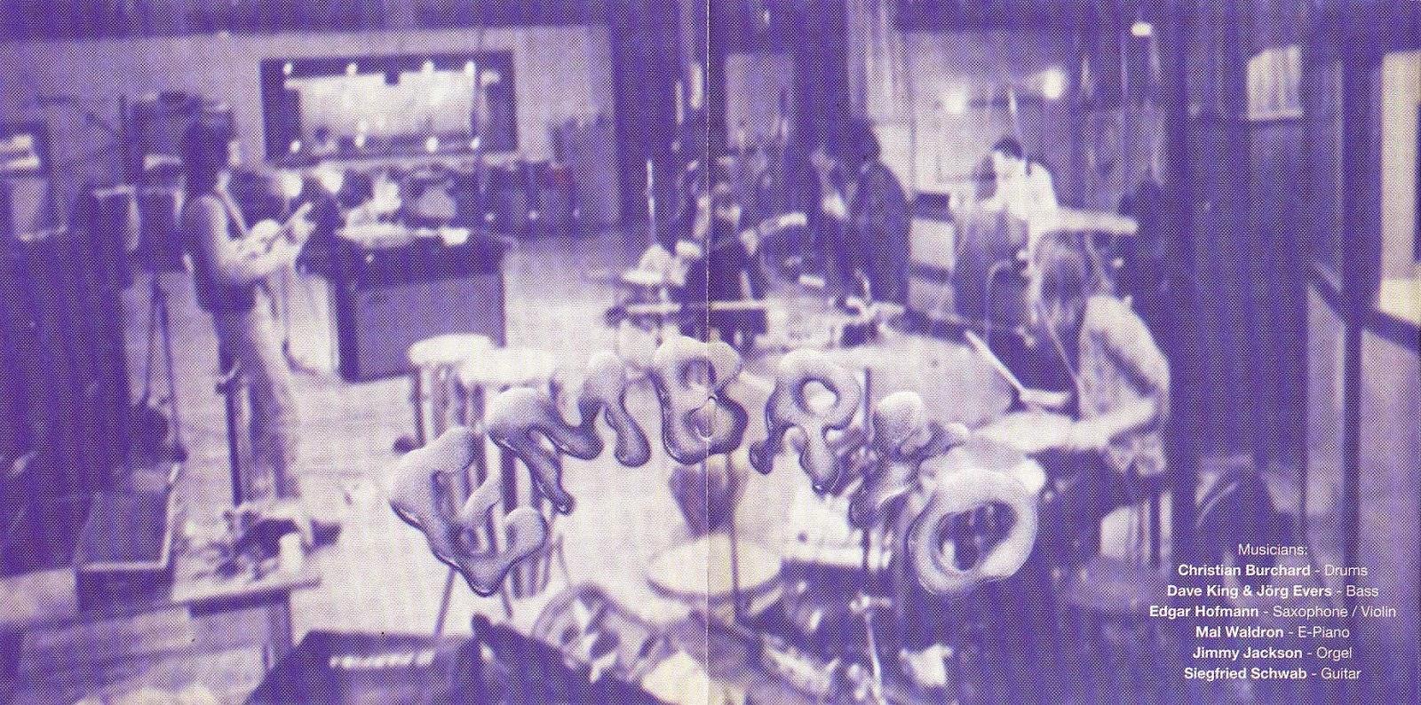 Embryo en las sesiones del Rocksession que es la misma alineación de musicos que en Steig Aus.