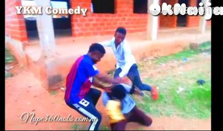 Comedy:-YKM comedy-Fake gun