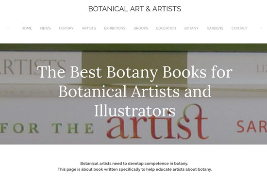 MAKING A MARK: The Best Books about Botanical Art and Artists