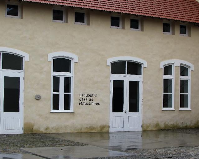 espaço da Orquestra de Jazz de Matosinhos na Casa da Arquitetura em Matosinhos