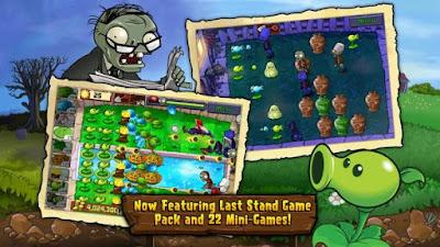 Kumpulan Game Plants vs Zombies Apk Versi Terbaru, Upate Maret 2016