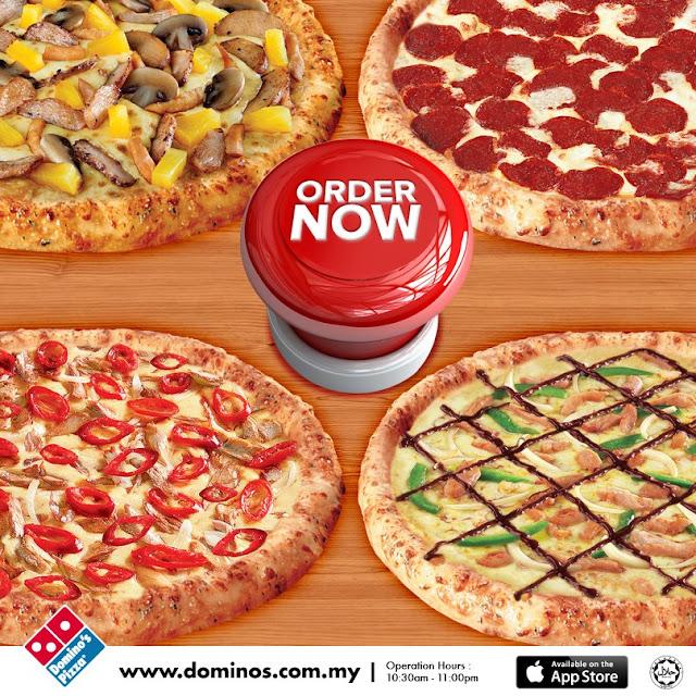 Order Dominos Pizza Promo in Malaysia