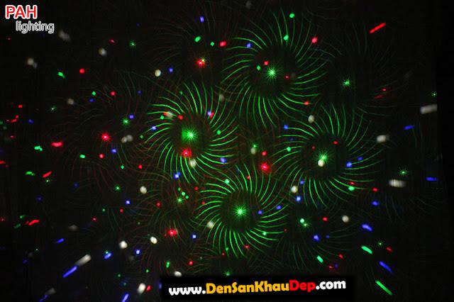 Hiệu ứng đèn laser led LELA cảnh 2