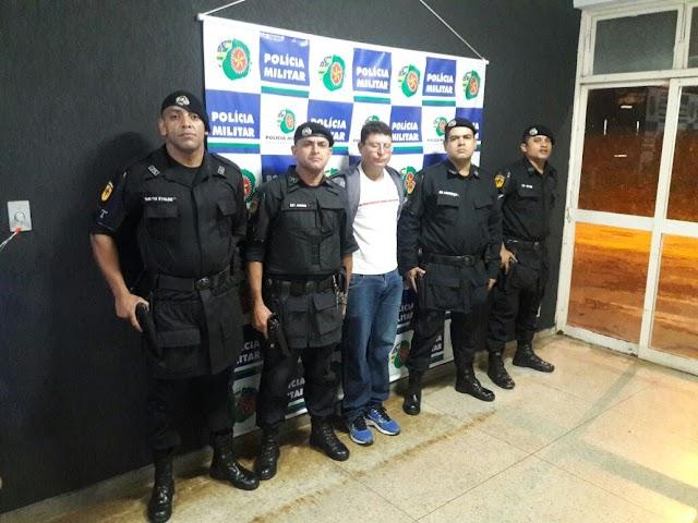 GPT autua Indivíduo por receptação em Senador Canedo