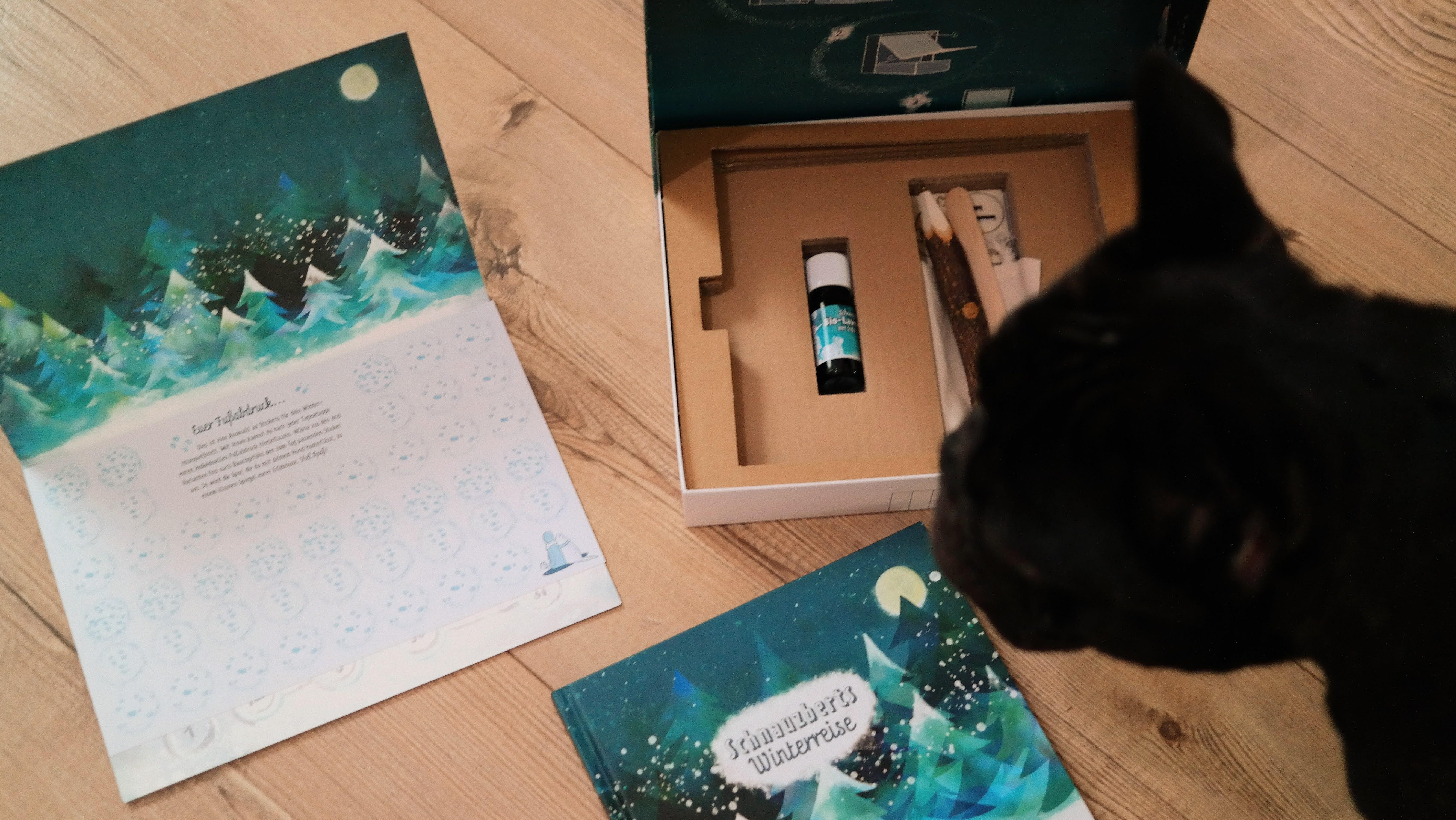 Bentley bloggt | Heute über einen Adventskalender für Menschen und Hunde - Schnauzberts Winterreise