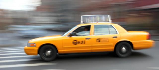 Andar de táxi em Washington