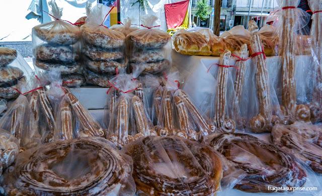 Doces típicos da Festa de São Gonçalo, Amarante, Portugal