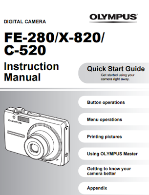 Olympus FE-280 Manual