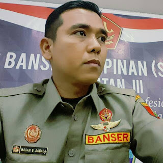 Foto Hasan Basri Sagala Kasatkornas Banser