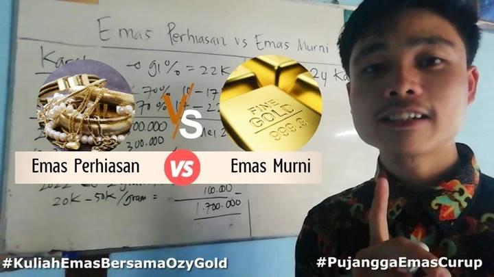 Emas Perhiasan vs Emas Batangan untuk Investasi