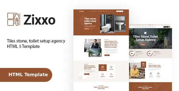 Best Flooring, Paving and Tiling Services HTML Template