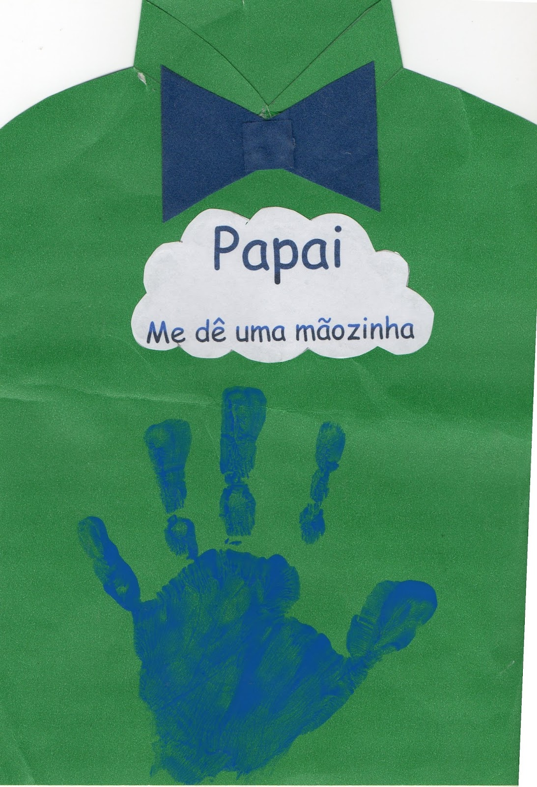 Bebezinhos Na Creche Lembrancinha Para O Dia Dos Pais
