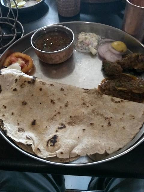 restaurant mutton bhakri