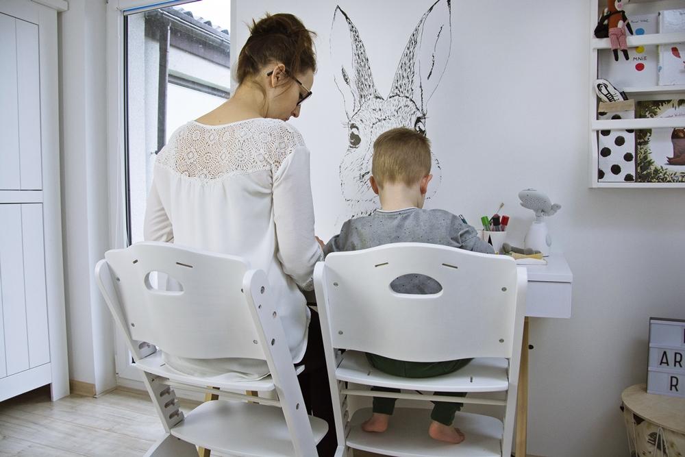 krzesło które rośnie wraz z dzieckiem
