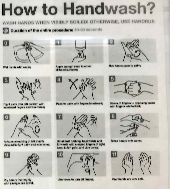 chart, hands, instructions, Okinawa, washing