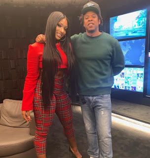 Jay-Z & Megan Thee Stallion Announces Rock Nation Deal