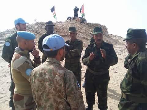 """الجيش الصحراوي ينفي إنشاء """"آلية عسكرية ثنائية للعمل والتنسيق"""" مع الجيش المغربي."""