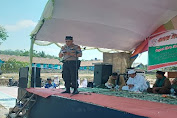 Sinergisitas TNI-Polri, Kawal Kegiatan HSN Pertama di Kecamatan Bayah