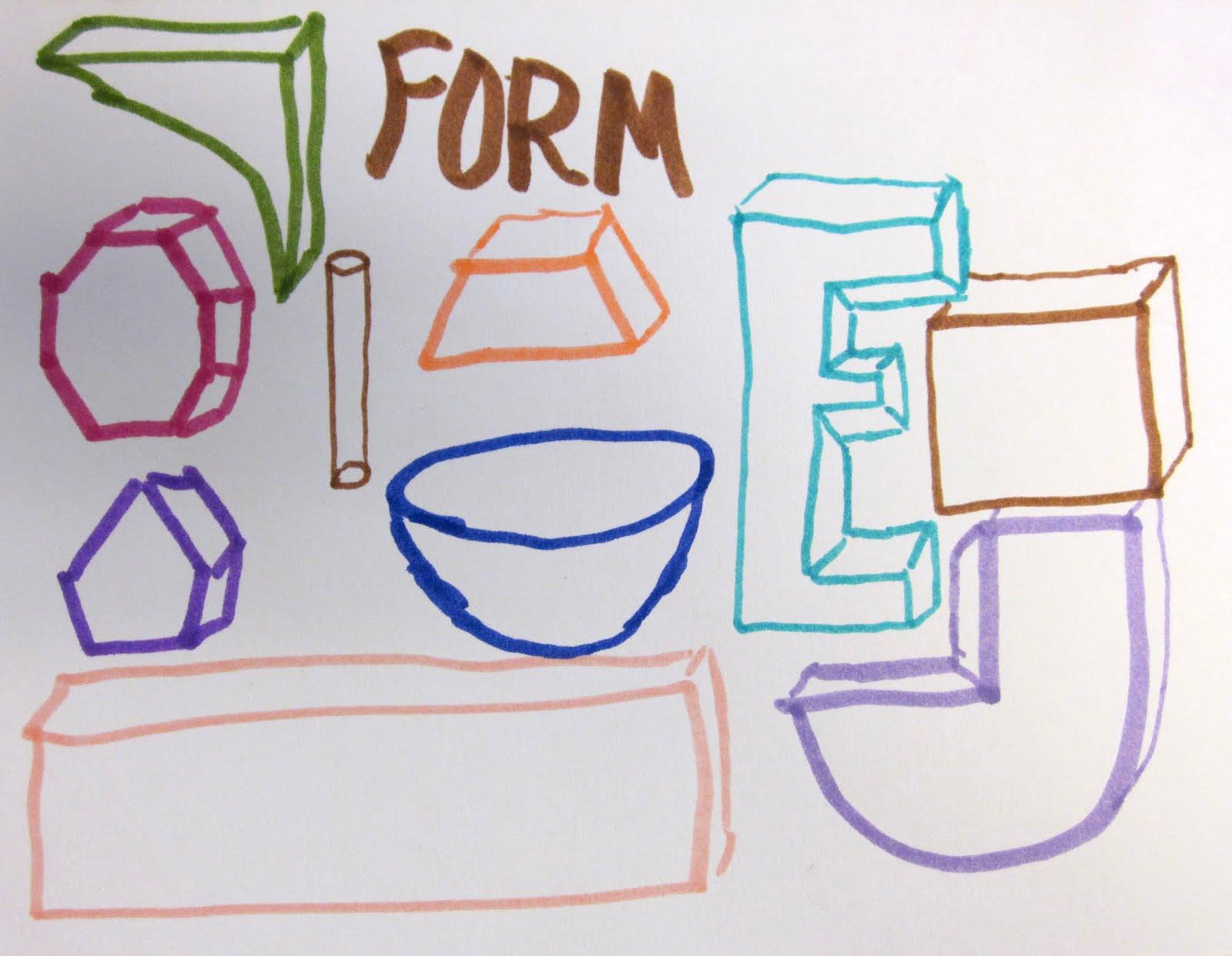 Art Is Basic Art Teacher Blog Elements Of Art Exercise