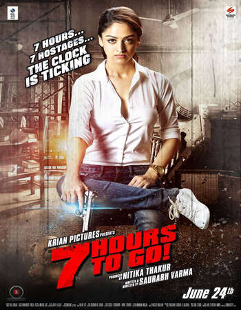 Poster Of 7 Hours to Go 2016 Hindi 140MB DVDRip HEVC Mobile ESubs Watch Online Free Download downloadhub.net