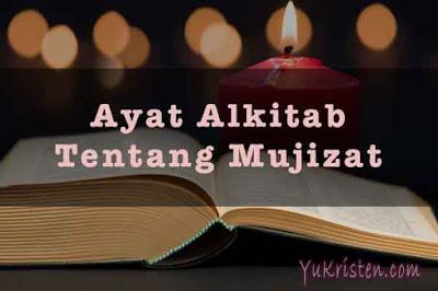 ayat alkitab tentang mujizat