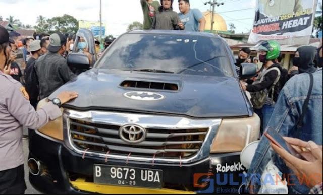 Demo di Kendari Berujung Aksi Sweeping TKA, 3 WNA China Disandera Massa