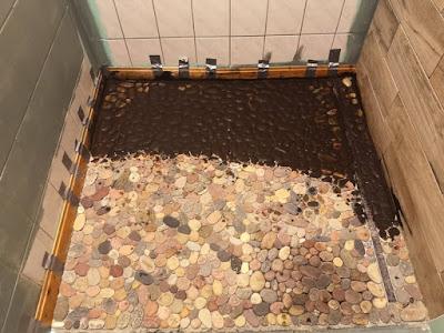 Renovierung Dusche Fußboden