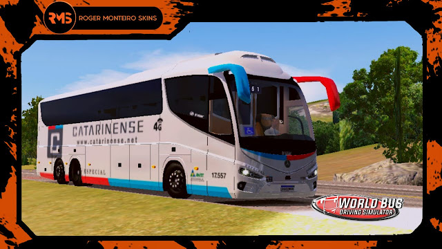 Irizar I8, Viação Catarinense, Skins, Skins World Bus, Wbds, World Bus Driving Simulator