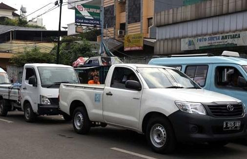 Sewa Mobil Pick Up di Cibubur