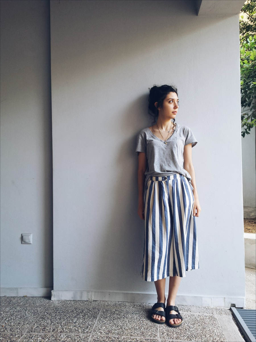 Culottes for the Weekend and Beyond: how to style them for summer - www.theblushfulhippocrene.blogspot.com