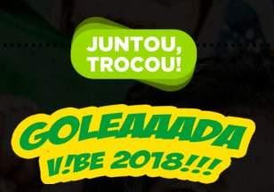 Promoção Vibe Energy Drink 2018 Junou Trocou Bola Exclusiva