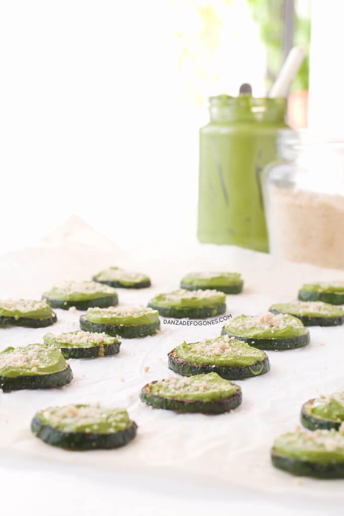 Vegan Zucchini Bites   danceofstoves.com