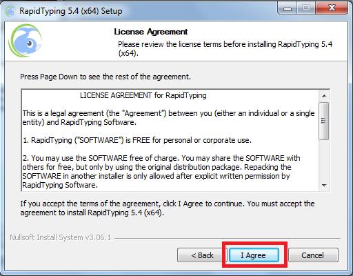 Hướng dẫn cài đặt phần mềm Rapid Typing 5.4 64bit mới nhất b
