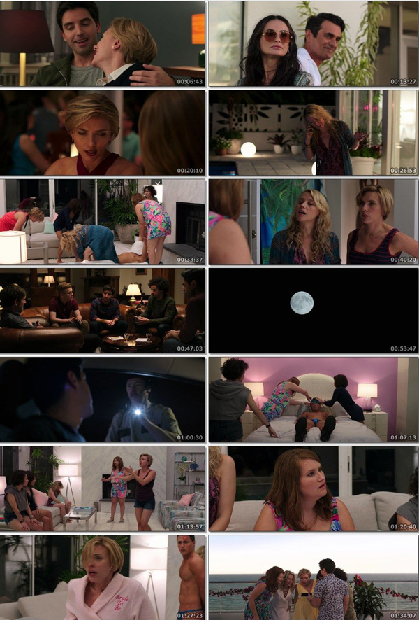Download Rough Night 2017 Dual Audio ORG Hindi 720p BluRay 800MB DD5.1ch ESubs movie