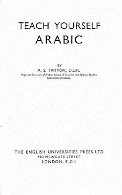 Teach yourself Arabic PDF