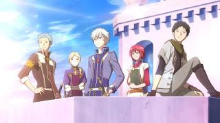 جميع حلقات واوفا ومواسم انمي Akagami no Shirayukihime  مترجم عدة روابط