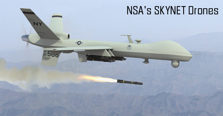 NSA's Top-Secret SKYNET May Be Killing Thousands of Innocent Civilians