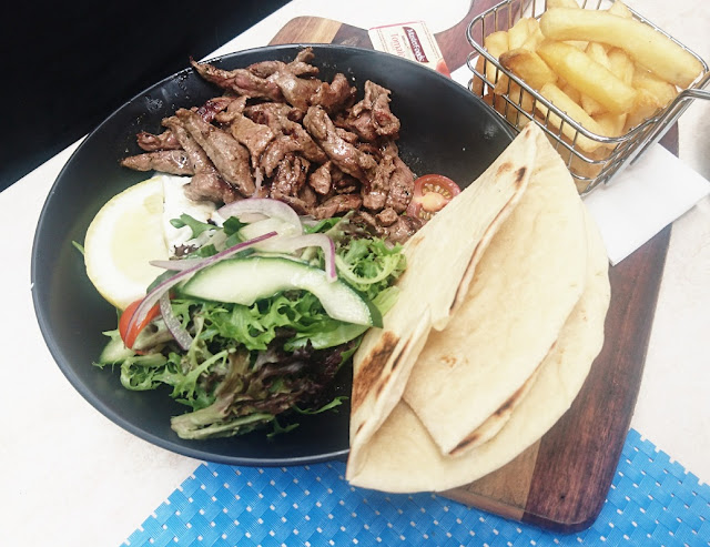 Warran Glen Garden Centre & Cafe, Warrandyte, lamb souvlaki