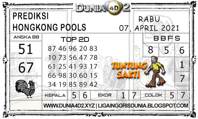Prediksi Togel HONGKONG DUNIA4D2 07 APRIL 2021