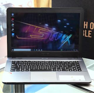 Jual Laptop ASUS X441B ( AMD A6 ) Fullset Malang