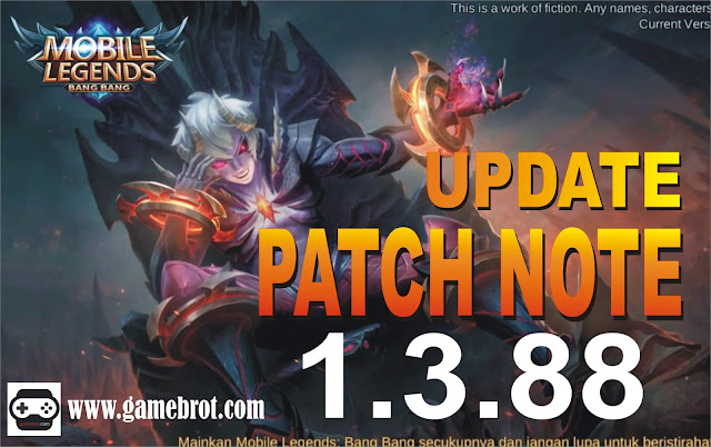 Update Patch Mobile Legends Terbaru v1.3.88.416.1 + Jadwal Rilis Skin ML Bulan Juli 2019