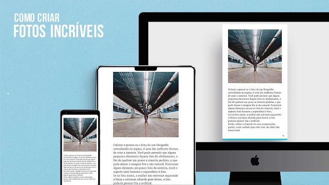 O e-book Como Criar Fotos Incríveis