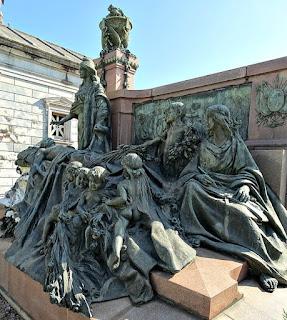Jazigo-Monumento do Senador Pinheiro Machado - Cemitério da Santa Casa